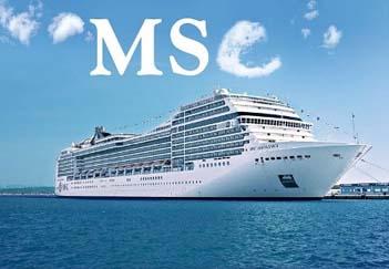 Pacotes cruzeiros marítimos 2014 2015 MSC